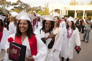 Nursing graduates at San Diego City College