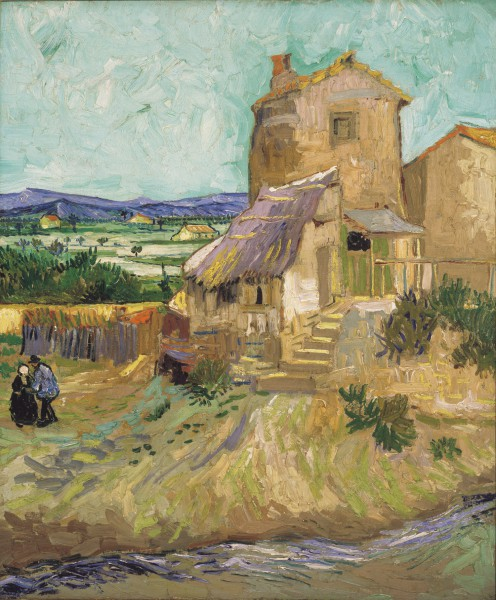 Vincent van Gogh, 'The Old Mill.' Oil on canvas. 1888.