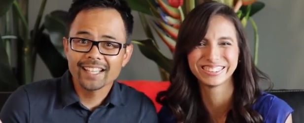 Dennis Caco and April Estrada, co-founders of The undress Inc.