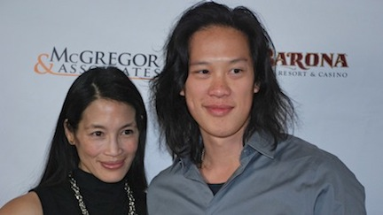 Eugenia Yuan and Leonard Wu, stars of 'Revenge of the Green Dragons' in the San Diego Asian Film Festival.
