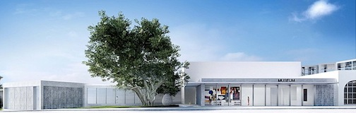 The proposed new entrance to the Museum of Contemporary Art San Diego in La Jolla.