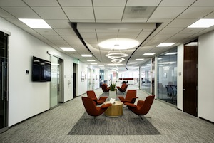 Expansive space at Quidel Corp.'s new headquarters.