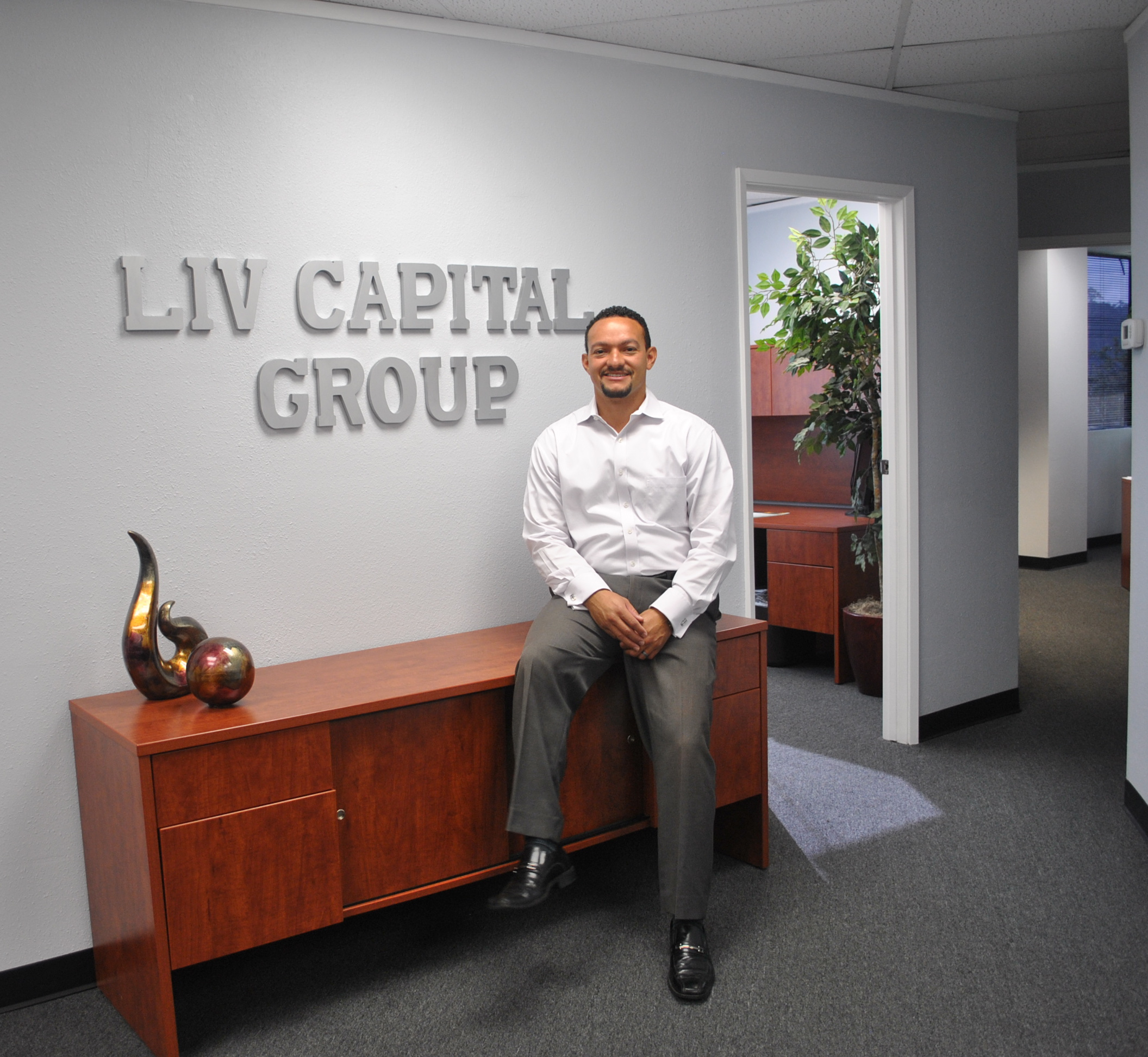 Montaño launched LIV Capital Group which brings together private investors for real estate projects.