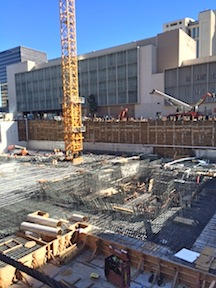 Site of the New San Diego Central Courthouse Downtown.