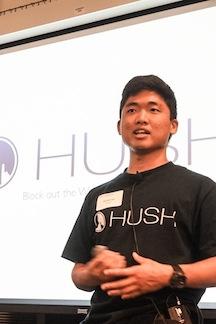 HUSH CEO Daniel Lee