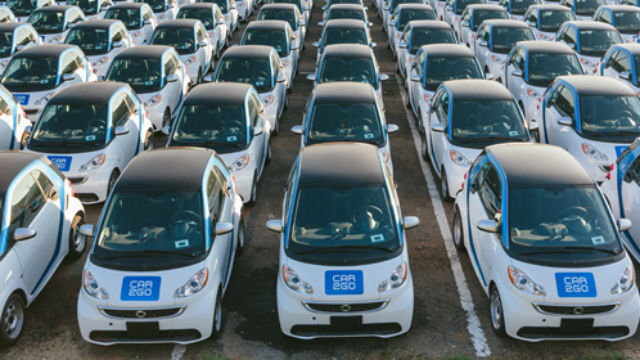 New electric cars for car2go's San Diego fleet.