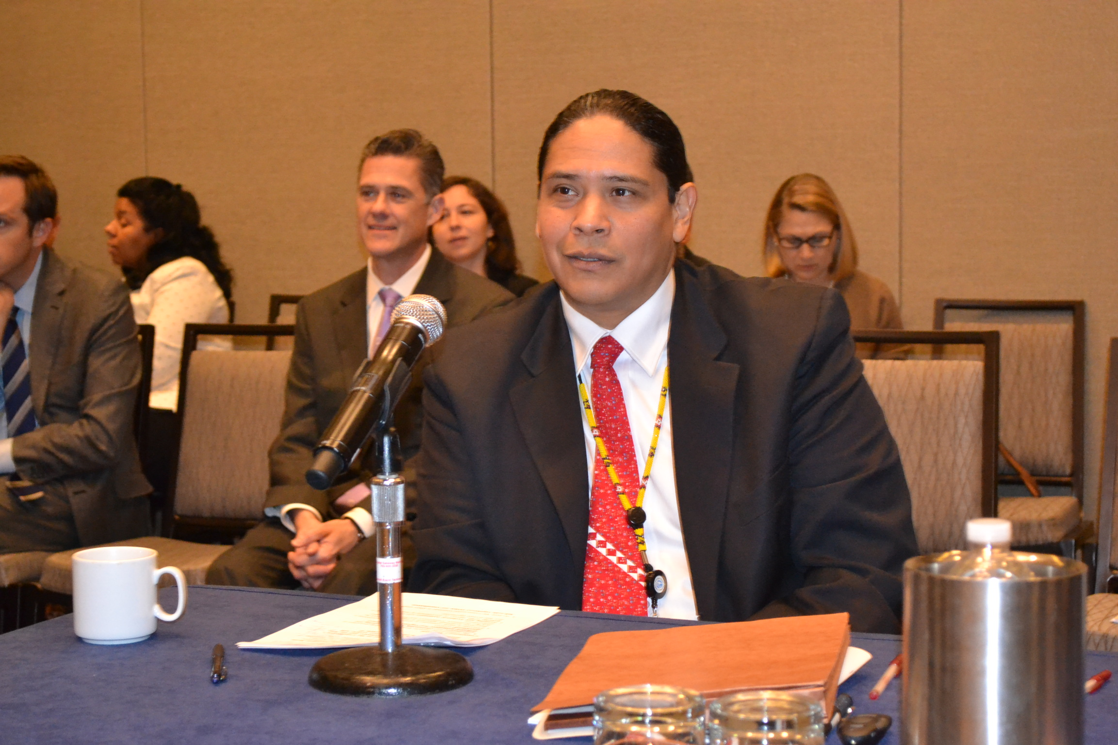Jonodev Osceola Chaudhuri, chairman of the National Indian Gaming Commission, will attend the conference.