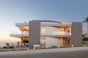 The 'Marine Lair' home by Hill Construction Company
