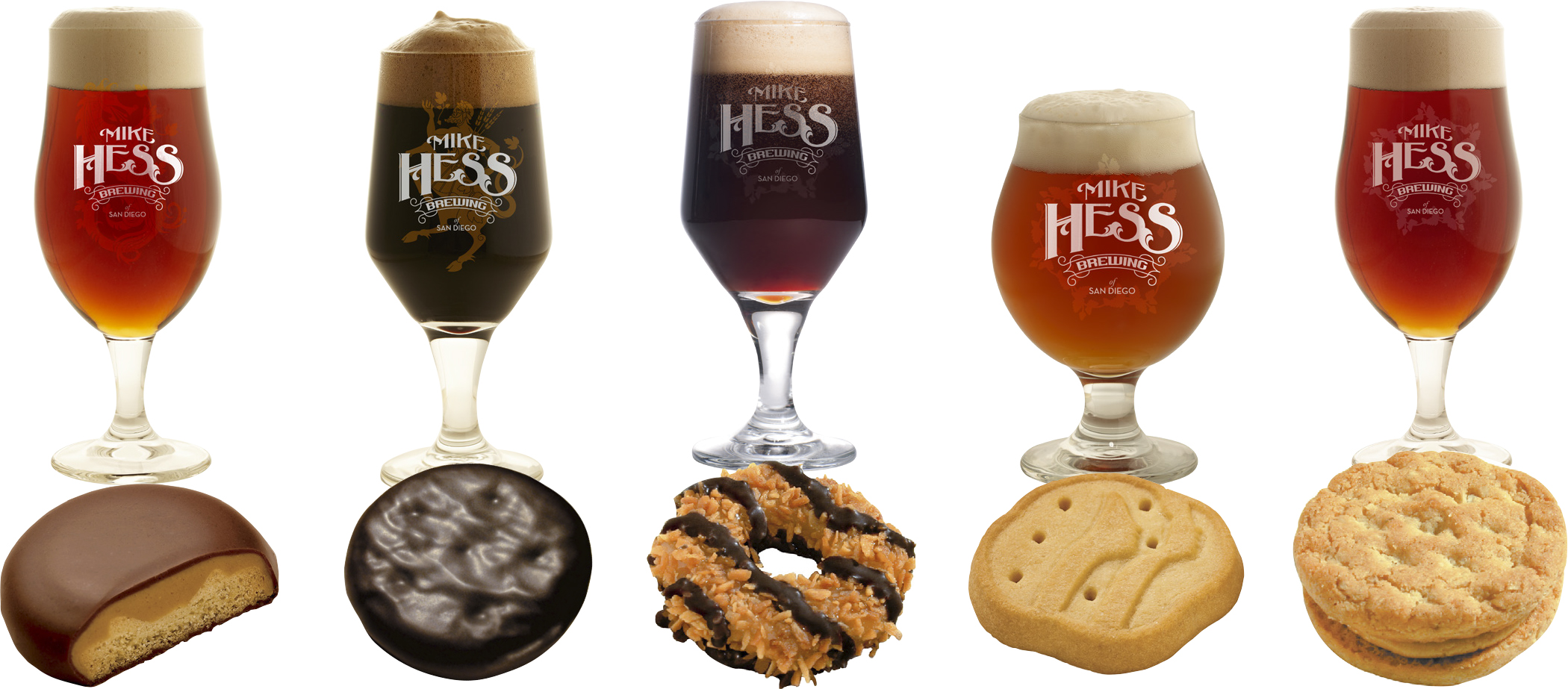 Pairing craft beer with Girl Scout cookies