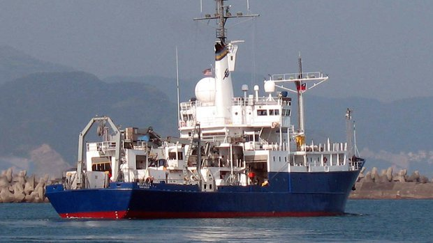 The research vessel Melville is going to be retired.