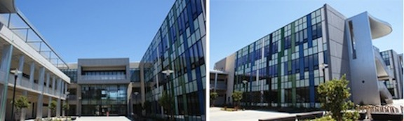 The Social and Behavioral Sciences building at Mesa College