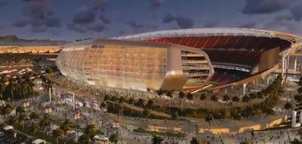 LA Stadium rendering