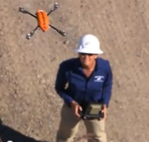 In 2014, SDG&E was granted approval by the FAA to test a small drone in a sparsely populated airspace in eastern San Diego County.