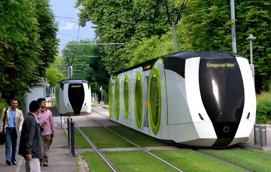 French tram of the future. C-3 Breakfast Dialogue will discuss San Diego's transportation future.