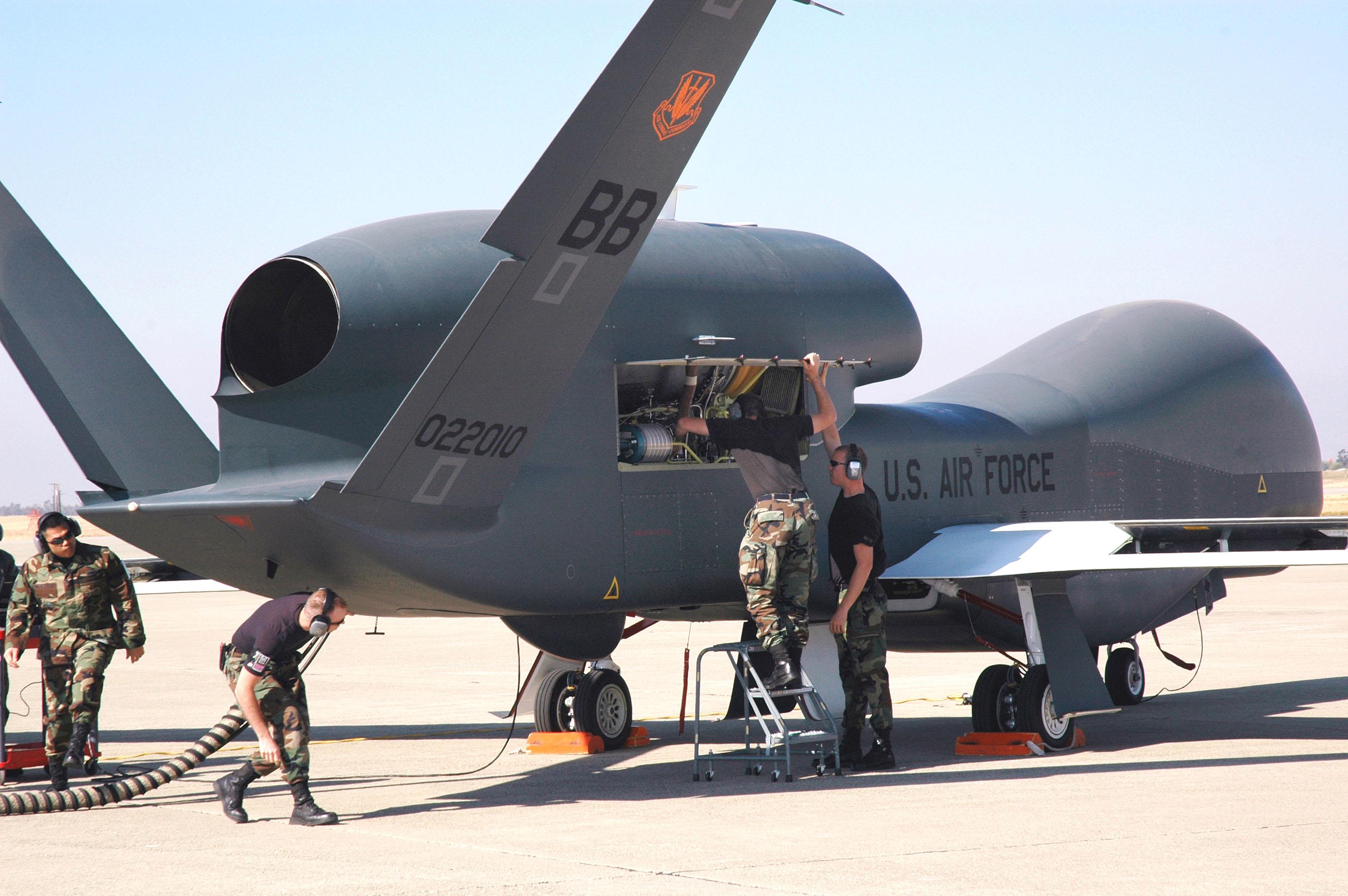 The  U.S. Air Force RQ-4 Global Hawk