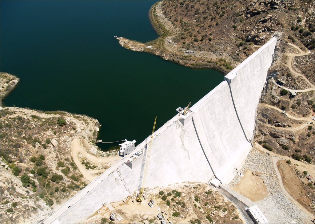 San Vicente Dam and Reservoir