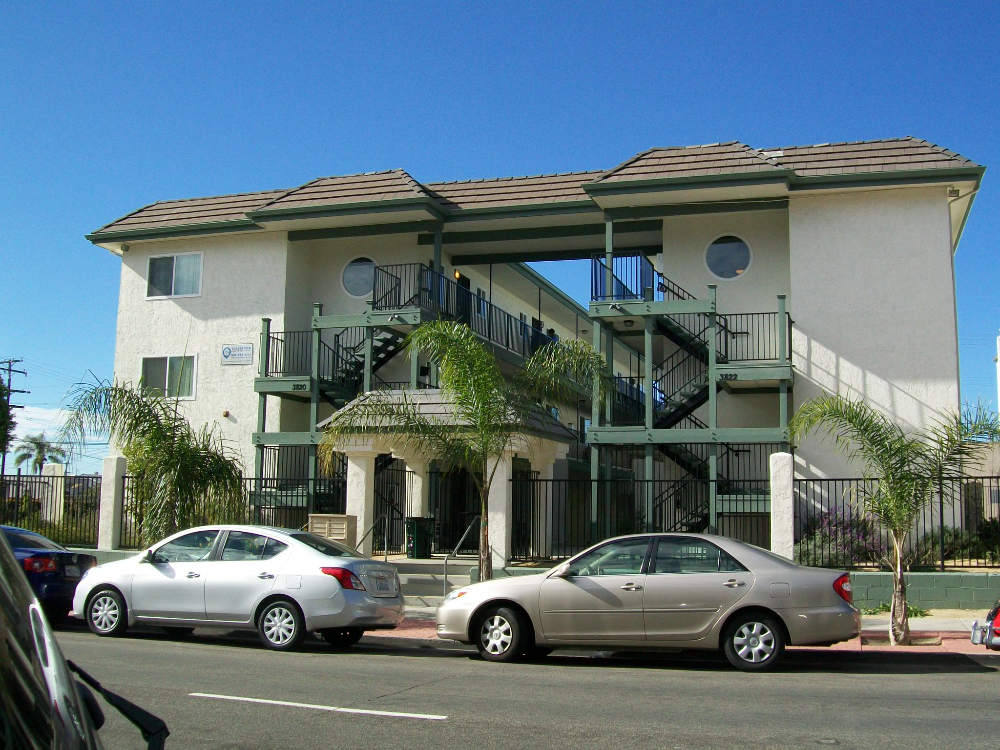 Village View, the largest of the City Heights Ten properties (30 units).