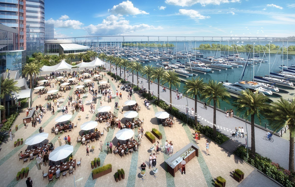 Marriott Marquis San Diego Marina expansion rendering