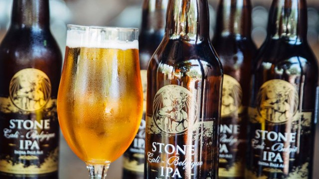 Stone IPA from North County. Photo courtesy Stone Brewing Co.