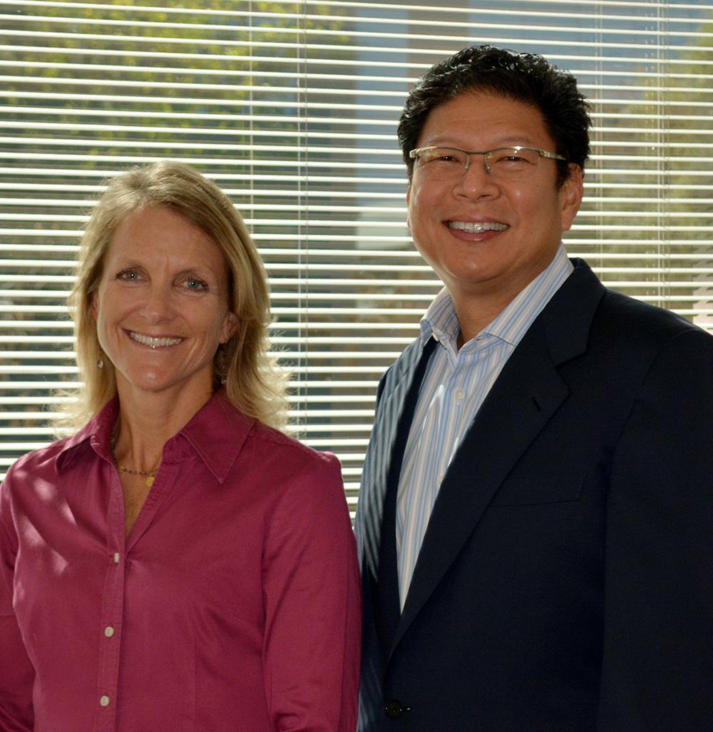Authors of the new study -- Professor Jerold Chun Associate Professor Beth Thomas.