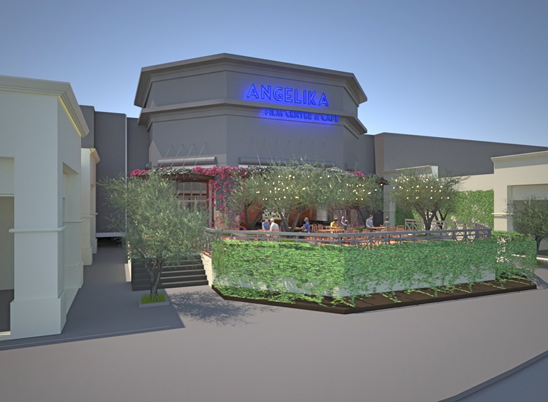 Rendering of an Angelika Film Center & Cafe