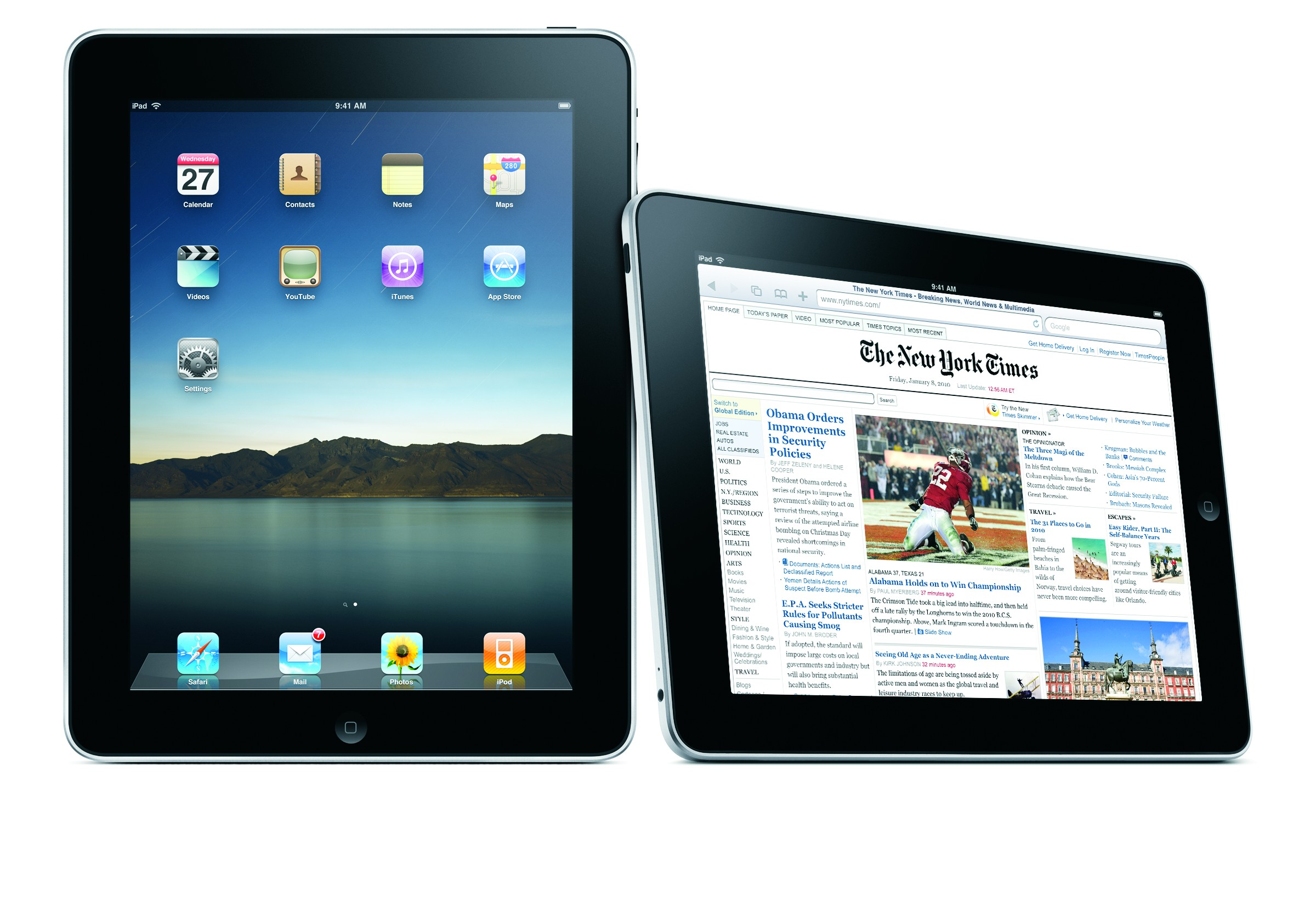 The company said the Apple iPad 2, above, and iPad mini are collected more than any other tablets.