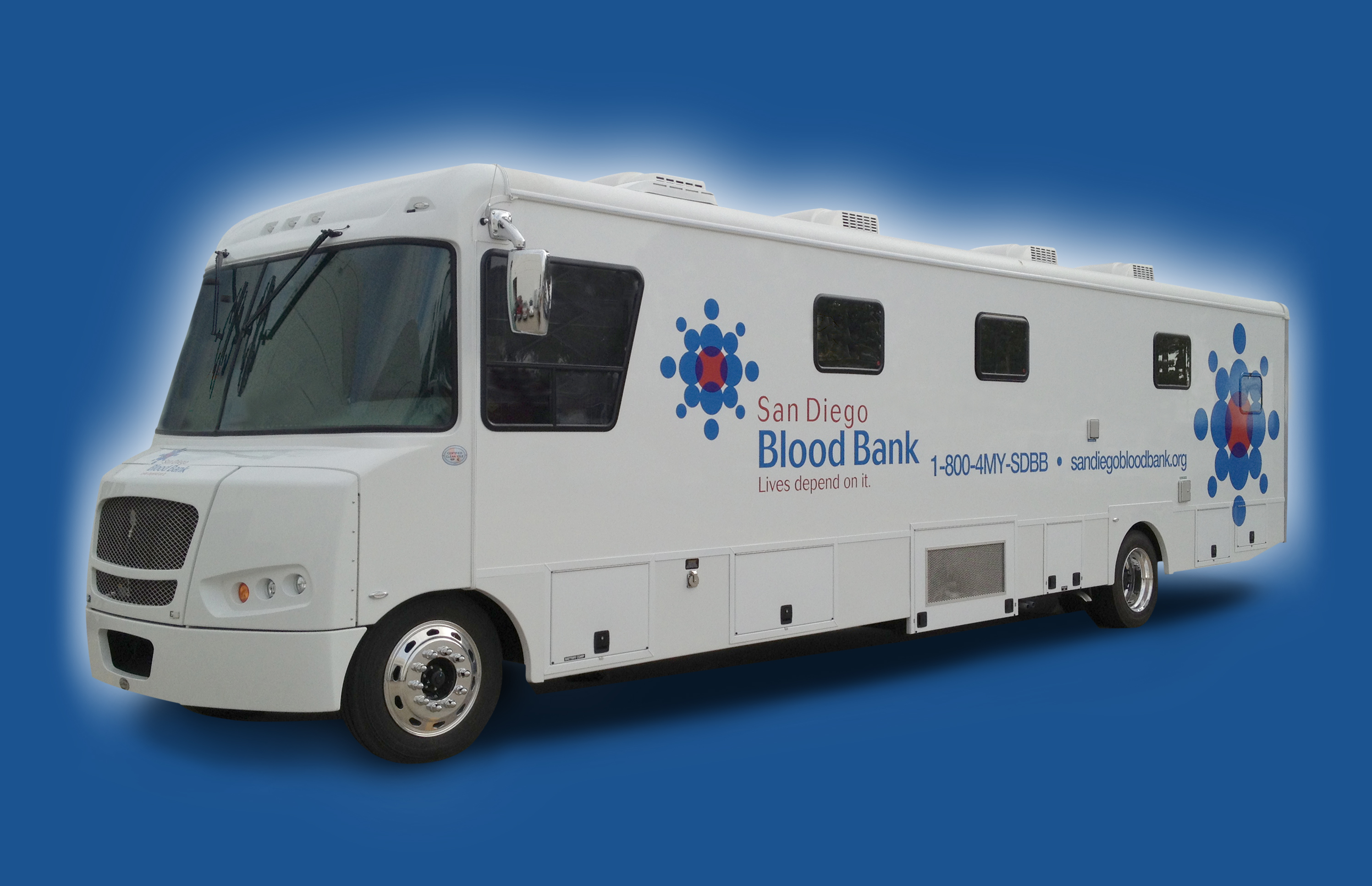 The $258,000 San Diego Blood Bank Blood Mobile