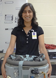 Researcher Brinda Rana