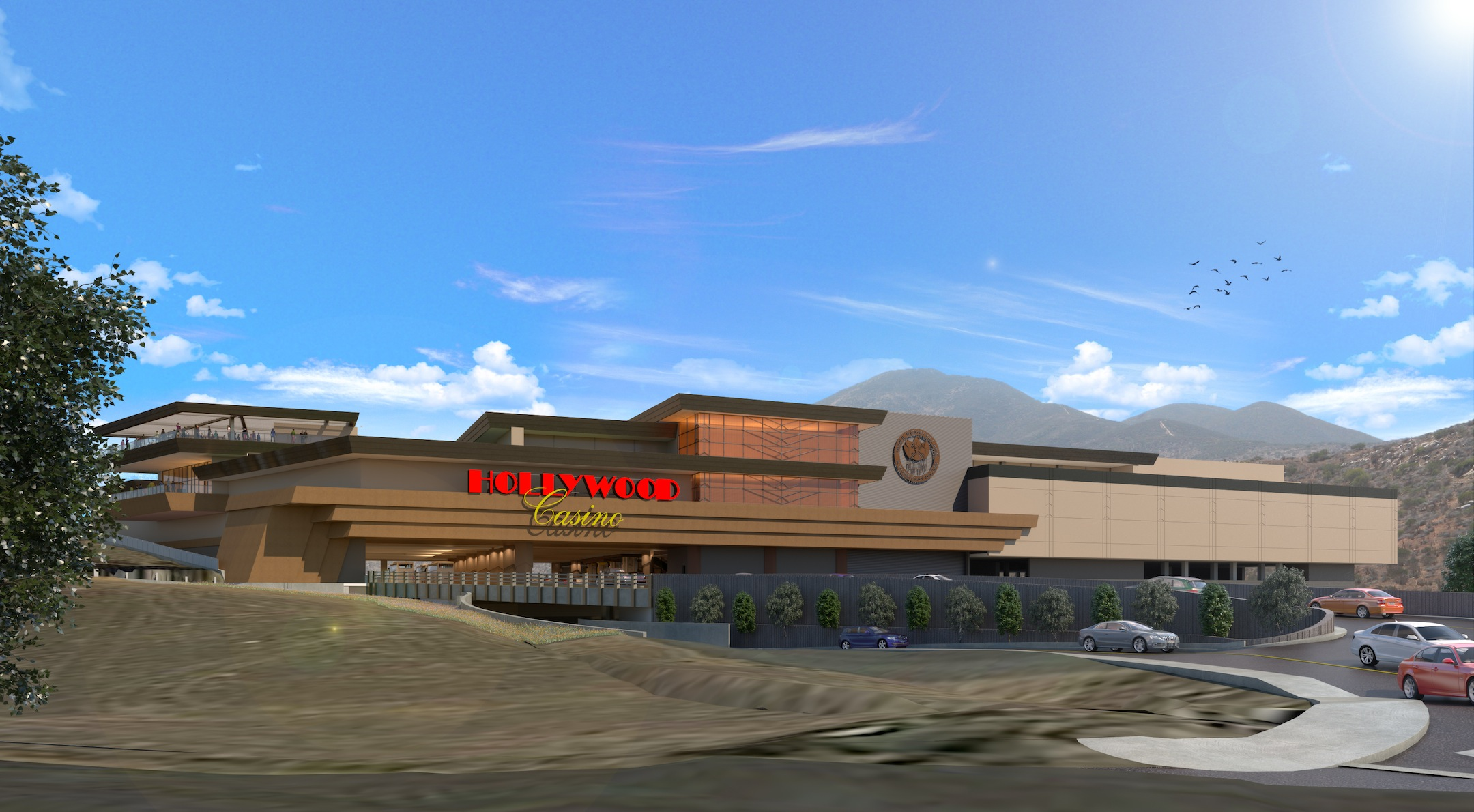 The proposed Hollywood Casino Jamul-San Diego