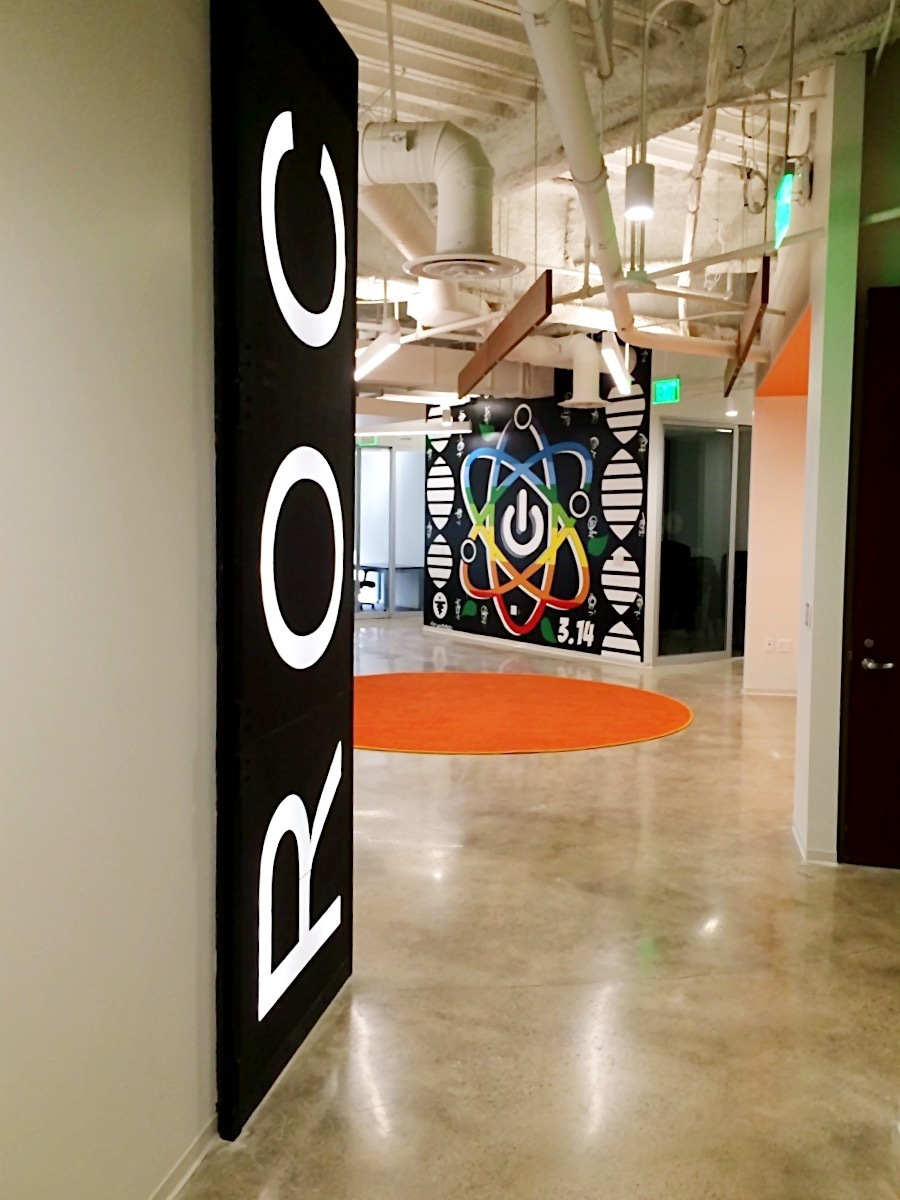 The creative space at 101 Broadway is over 21,000 square feet and features 96 private offices.
