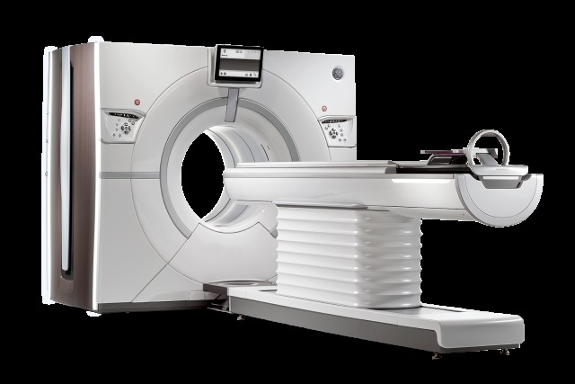 The GE Healthcare Revolution CT scanner