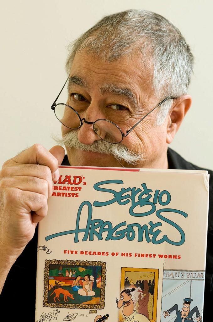 Sergio Aragonés, Mad Magazine's cartoonist