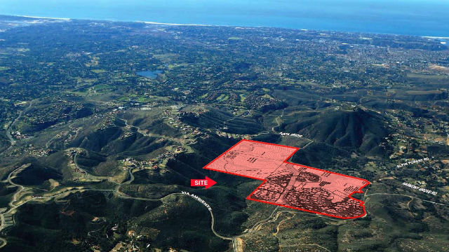 Aerial view of the Cielo Del Norte property. Courtesy Colliers International