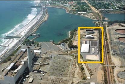 Location of the Carlsbad desalination plant