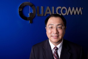 Frank Meng's appointment will be effective Monday and he will report directly to Derek Aberle, president of Qualcomm.