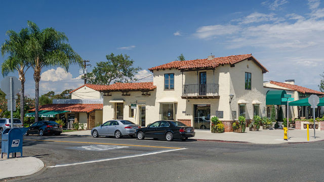 Street view in Rancho Santa Fe