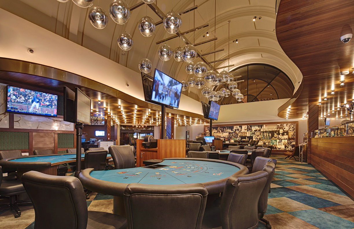 Interior of the renovated Seven Mile Casino