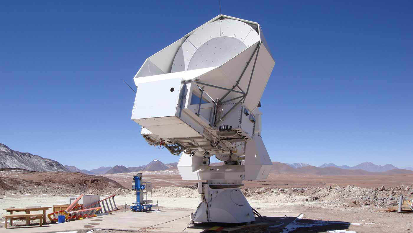 The Simons Array, a system of three powerful telescopes located in Chile's Atacama desert, will give astronomers an important new tool to peer back in time to the early universe.
