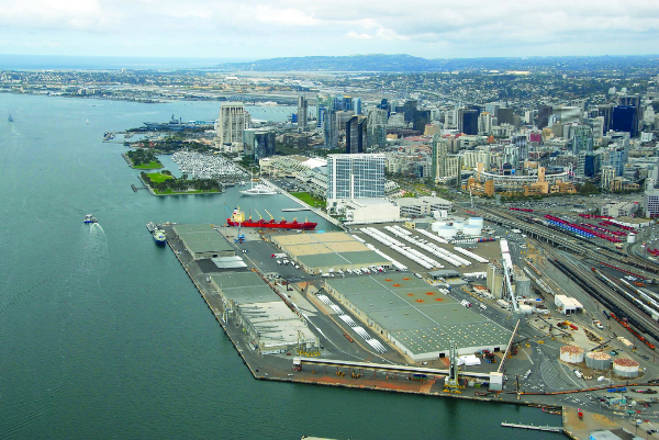 The Port of San Diego has entered a conditional agreement with Mitsubishi Cement Corp. for potential future operations at the Tenth Avenue Marine Terminal.