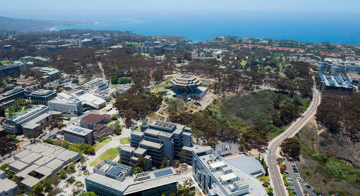 The UC San Diego campus