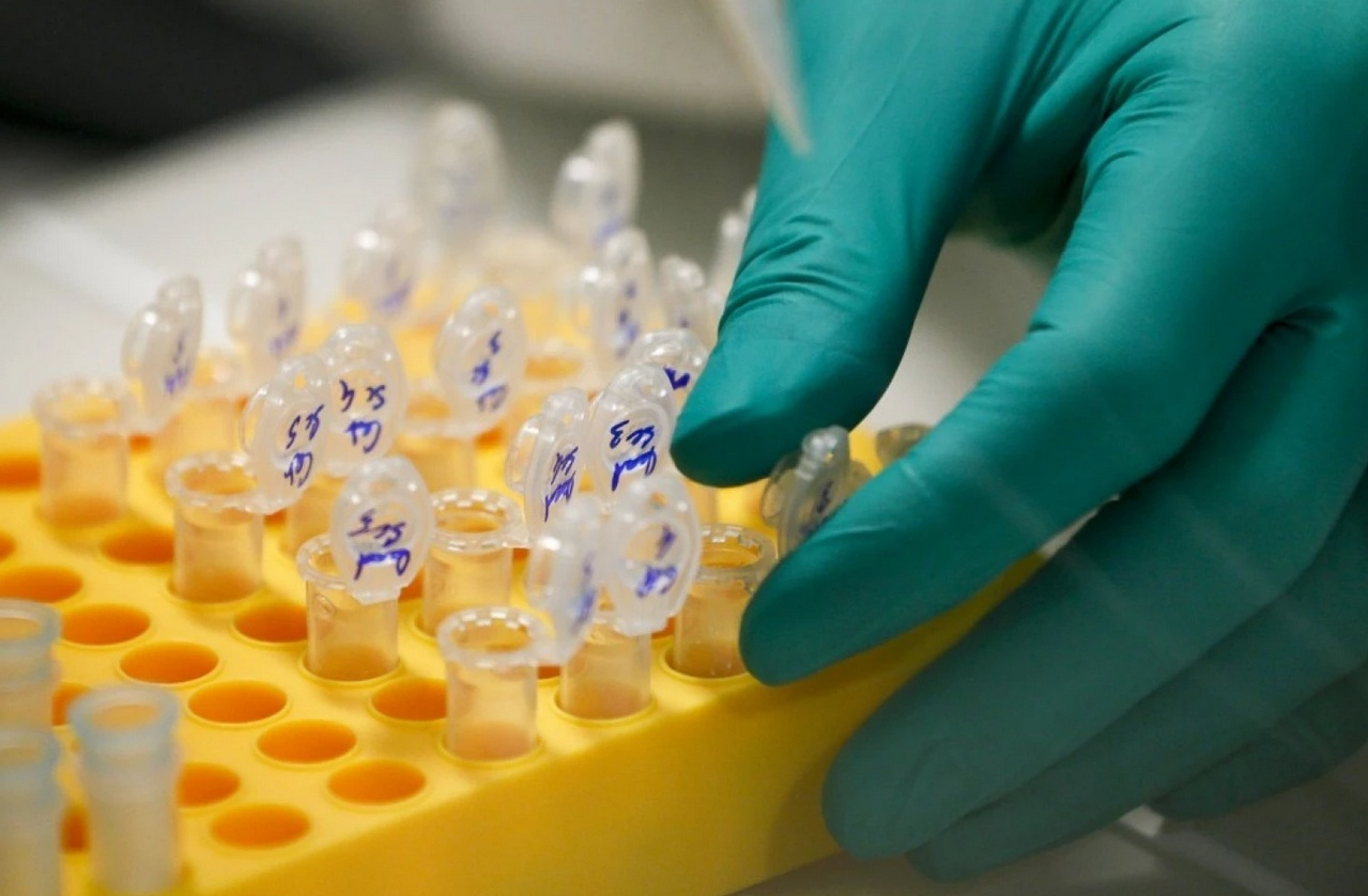 Lockheed Martin is forging partnerships in health care, such as the study of the human genome with Illumina. (Robert Pratta/Reuters)