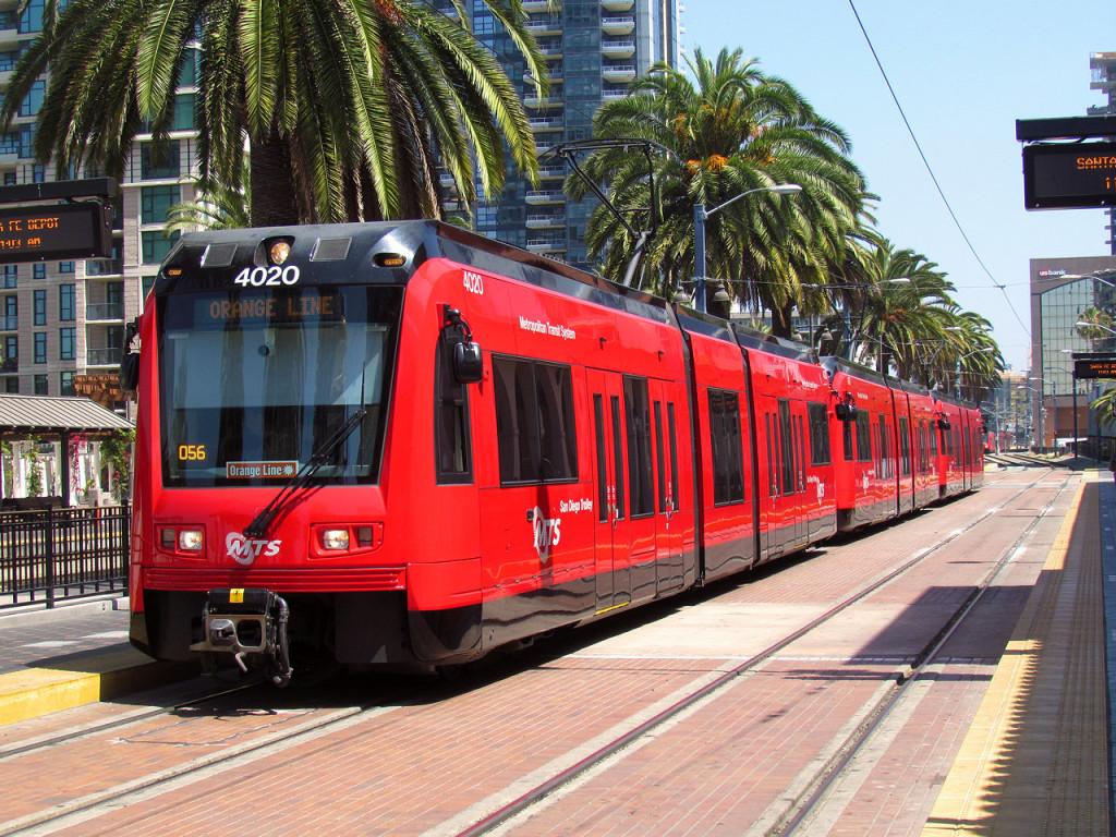 San Diego Metropolitan Transit System's Blue Line