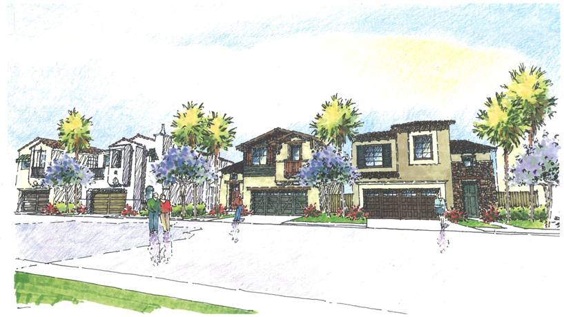 Rendering of Pacific Ridge
