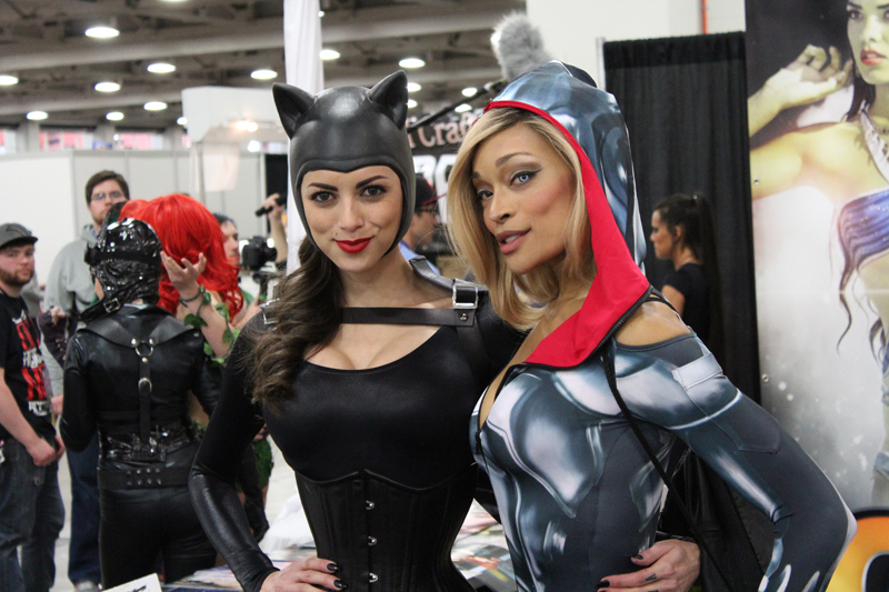 Attendees at the Salt Lake Comic Con in 2014.
