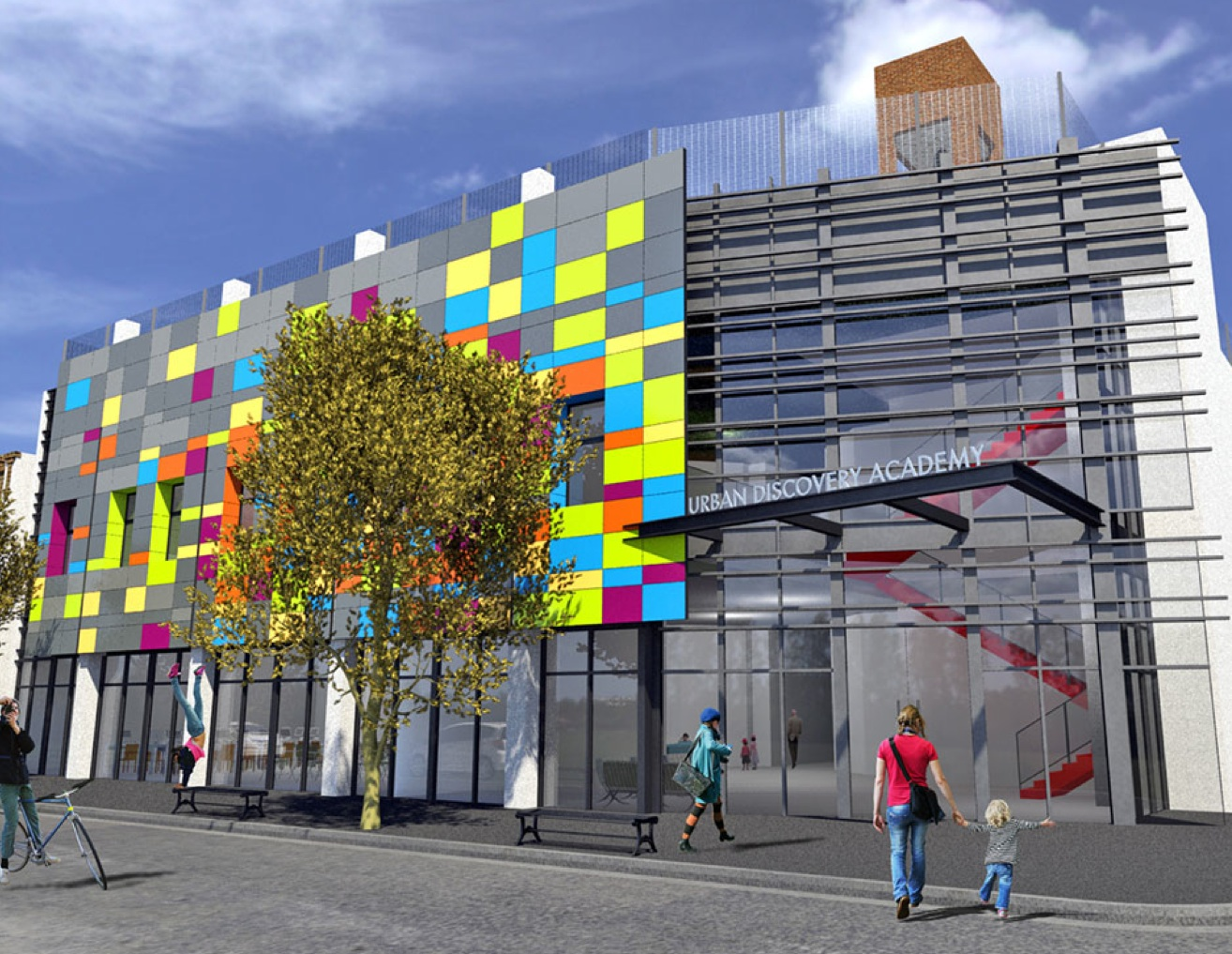 Urban Discovery Academy rendering