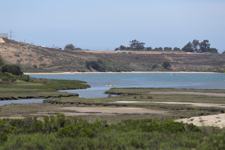 The south side of the Agua Hedionda Lagoon in Carlsbad. (Photo/Jamie Scott Lytle)