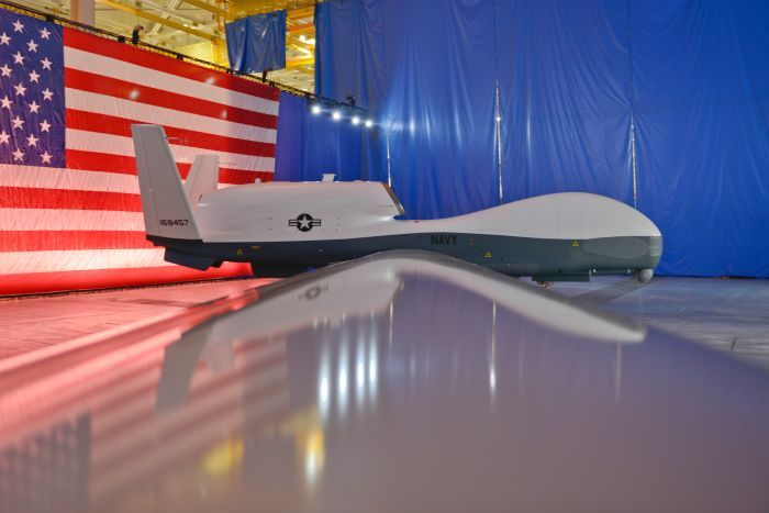 The U.S. Navy's MQ-4C Triton