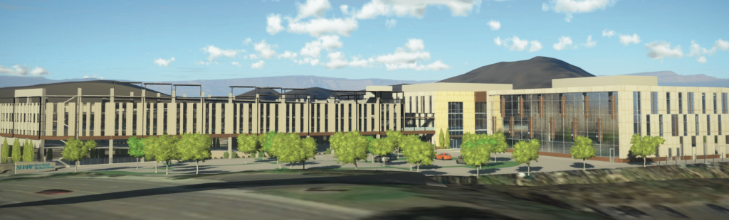 Rendering of Sharp Rees-Stealy facility.