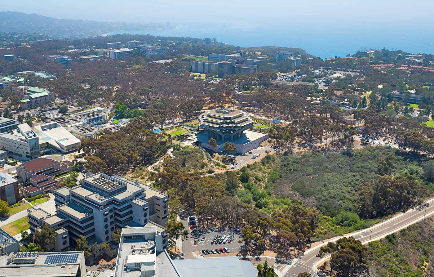 Campus of UC San Diego