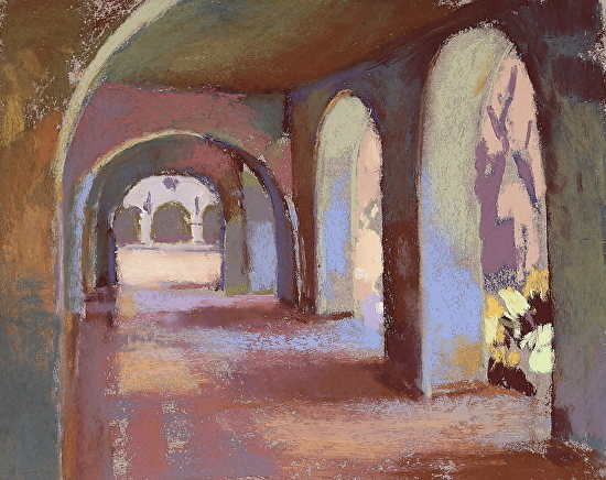 Margaret Larlham, 'The Colonnade: Balboa Park, 2014'